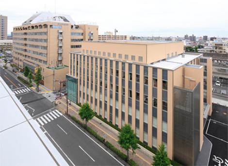 朝日大学病院の外観