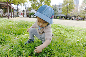 お散歩風景(春)